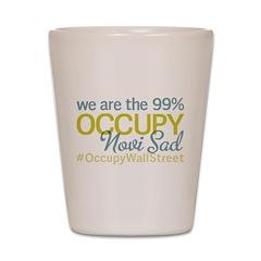Occupy Novi Sad Shot Glass