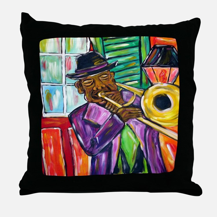 Preservation Jazz Throw Pillow