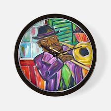 Preservation Jazz  Wall Clock
