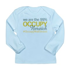 Occupy Norwich Long Sleeve Infant T-Shirt