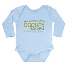 Occupy Norwich Long Sleeve Infant Bodysuit
