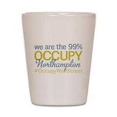 Occupy Northampton Shot Glass