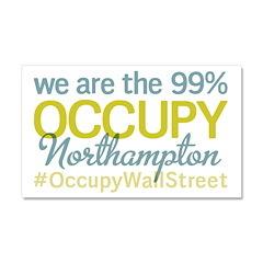 Occupy Northampton Car Magnet 20 x 12
