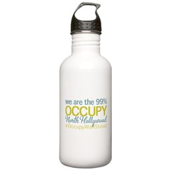 Occupy North Hollywood Water Bottle