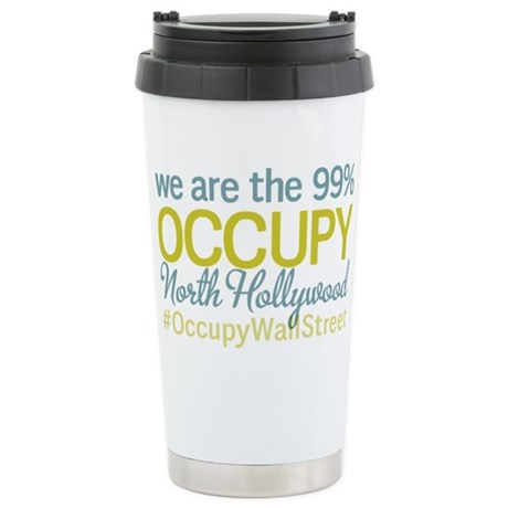 Occupy North Hollywood Stainless Steel Travel Mug