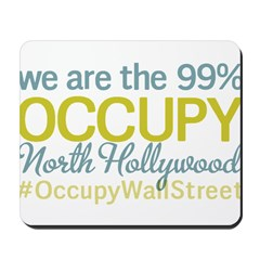 Occupy North Hollywood Mousepad