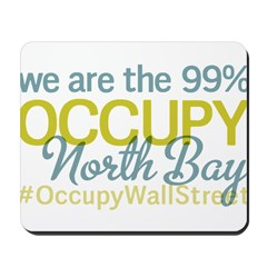 Occupy North Bay Mousepad