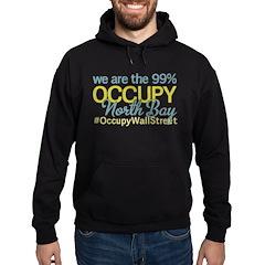 Occupy North Bay Hoodie (dark)