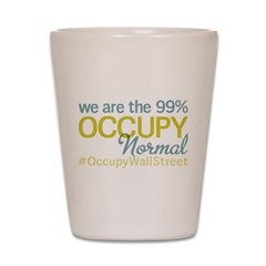 Occupy Normal Shot Glass