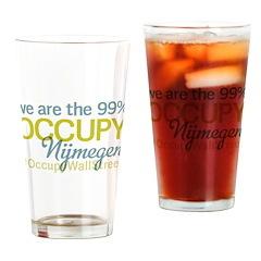 Occupy Nijmegen Drinking Glass