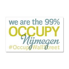 Occupy Nijmegen Car Magnet 20 x 12