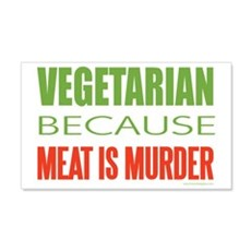 Vegetarian 22x14 Wall Peel