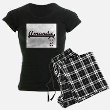 Amanda Classic Retro Name Des Pajamas
