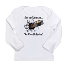 Funny Hockey Long Sleeve Infant T-Shirt