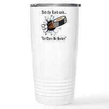 Funny Hockey Travel Mug