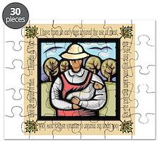 Vegetarian da Vinci Quote Puzzle