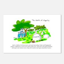 Cute Cheating wife Postcards (Package of 8)