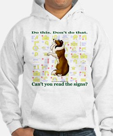 Can't You Read: Sheltie Hoodie