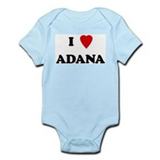 I Love Adana Infant Creeper
