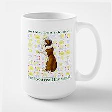 Can't You Read: Sheltie Mug
