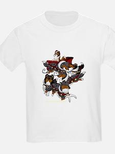 Collie Sleigh T-Shirt