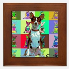 Basenji Framed Tile