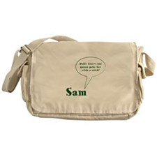 Sam Winchester Quote Messenger Bag
