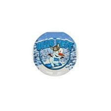 UllrFest Snowboarder Mini Button