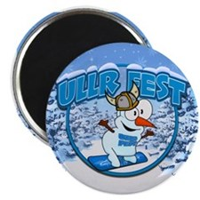 UllrFest Snowboarder Magnet
