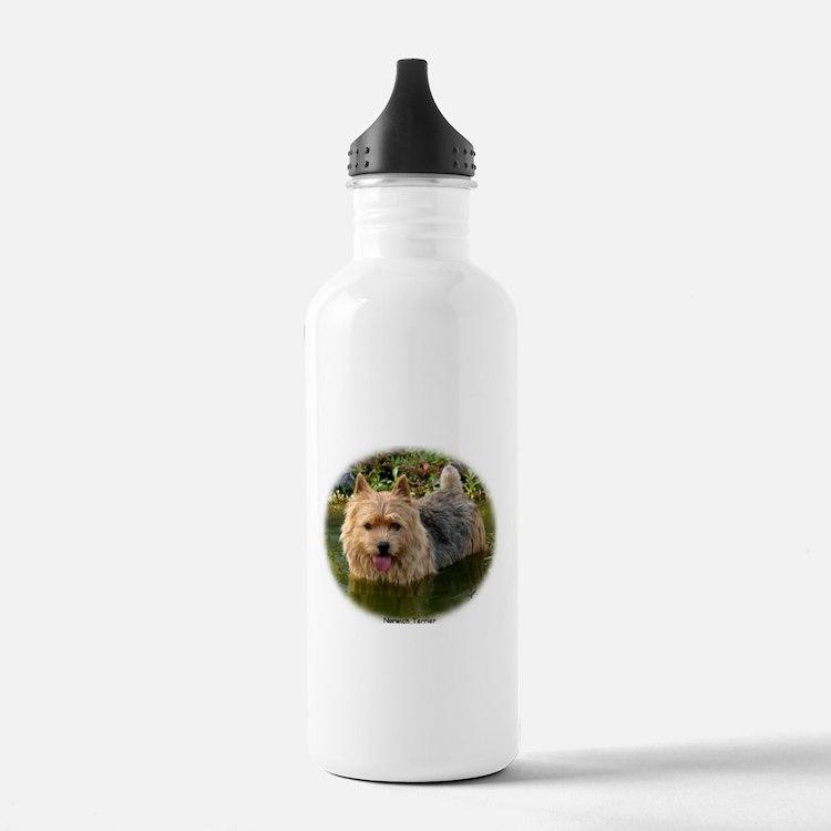 Norwich Terrier 9Y235D-087 Water Bottle
