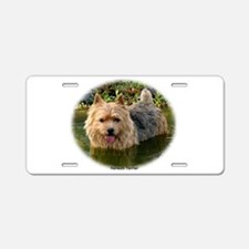 Norwich Terrier 9Y235D-087 Aluminum License Plate