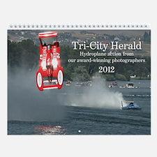 Tri-City Herald hydroplane calendar