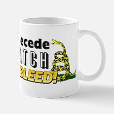 """""""I'd Rather Secede"""" Mug"""