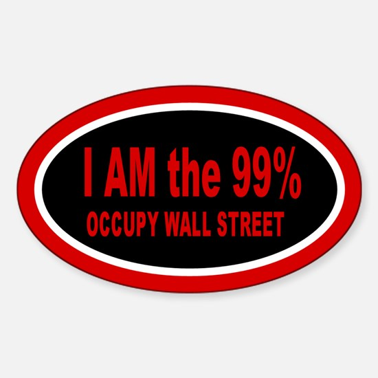 Occupy Wall Street: Sticker (Oval)
