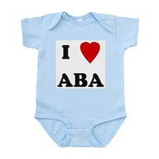 I Love Aba Infant Creeper