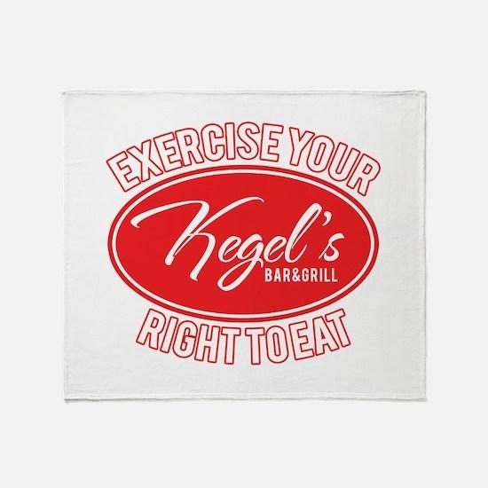 Kegel's Throw Blanket