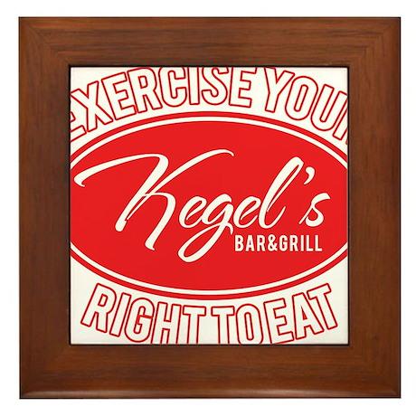Kegel's Framed Tile