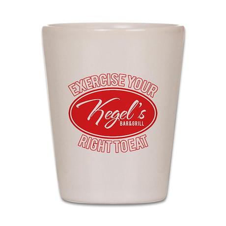 Kegel's Shot Glass