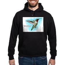 Ruby-Throated Hummingbird Hoodie