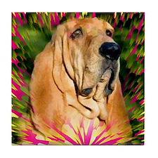 Bloodhound Tile Coaster