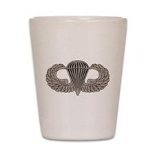 Parachutist Shot Glass