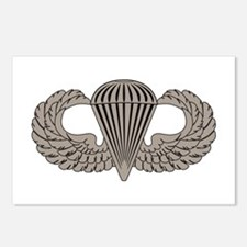 Parachutist Postcards (Package of 8)