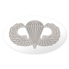 Parachutist Decal