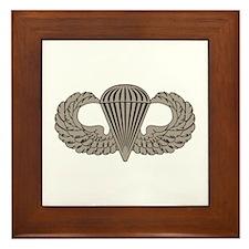 Parachutist Framed Tile