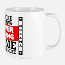 """Obama: Deliver Nothing"" Mug"
