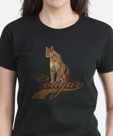 Cougar Women's Dark T-Shirt