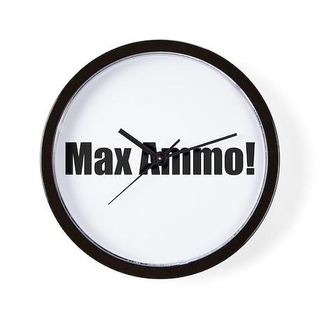 "Max Ammo! ""Black Ops"" Wall Clock"