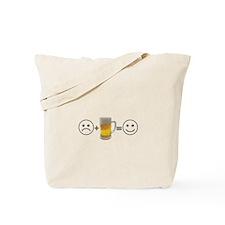 Beer Makes Me Happy Tote Bag