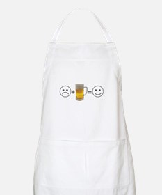 Beer Makes Me Happy Apron