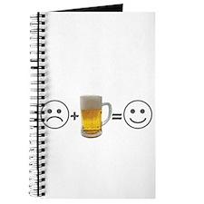 Beer Makes Me Happy Journal